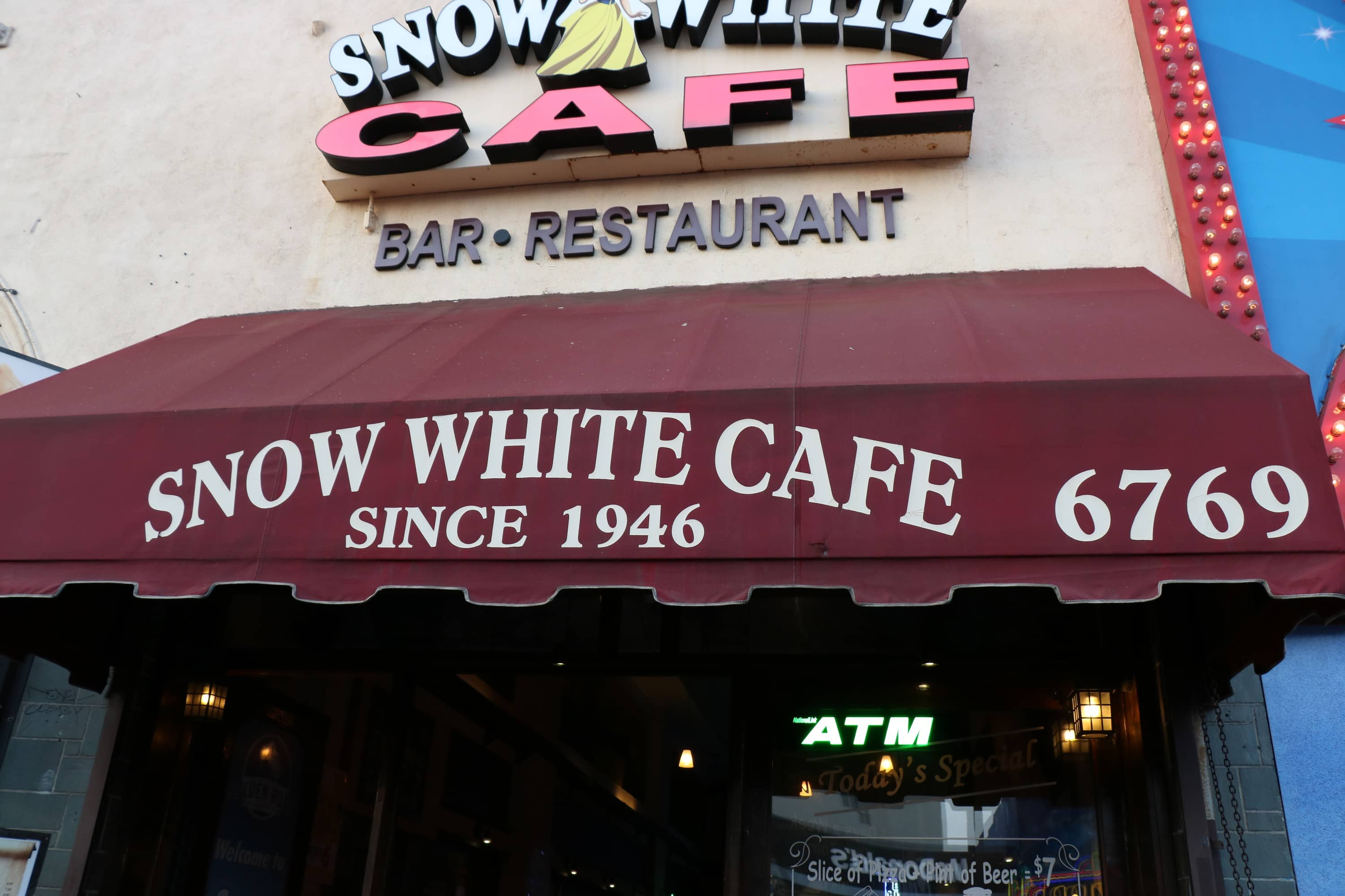 Old Hollywood - Snow White Cafe