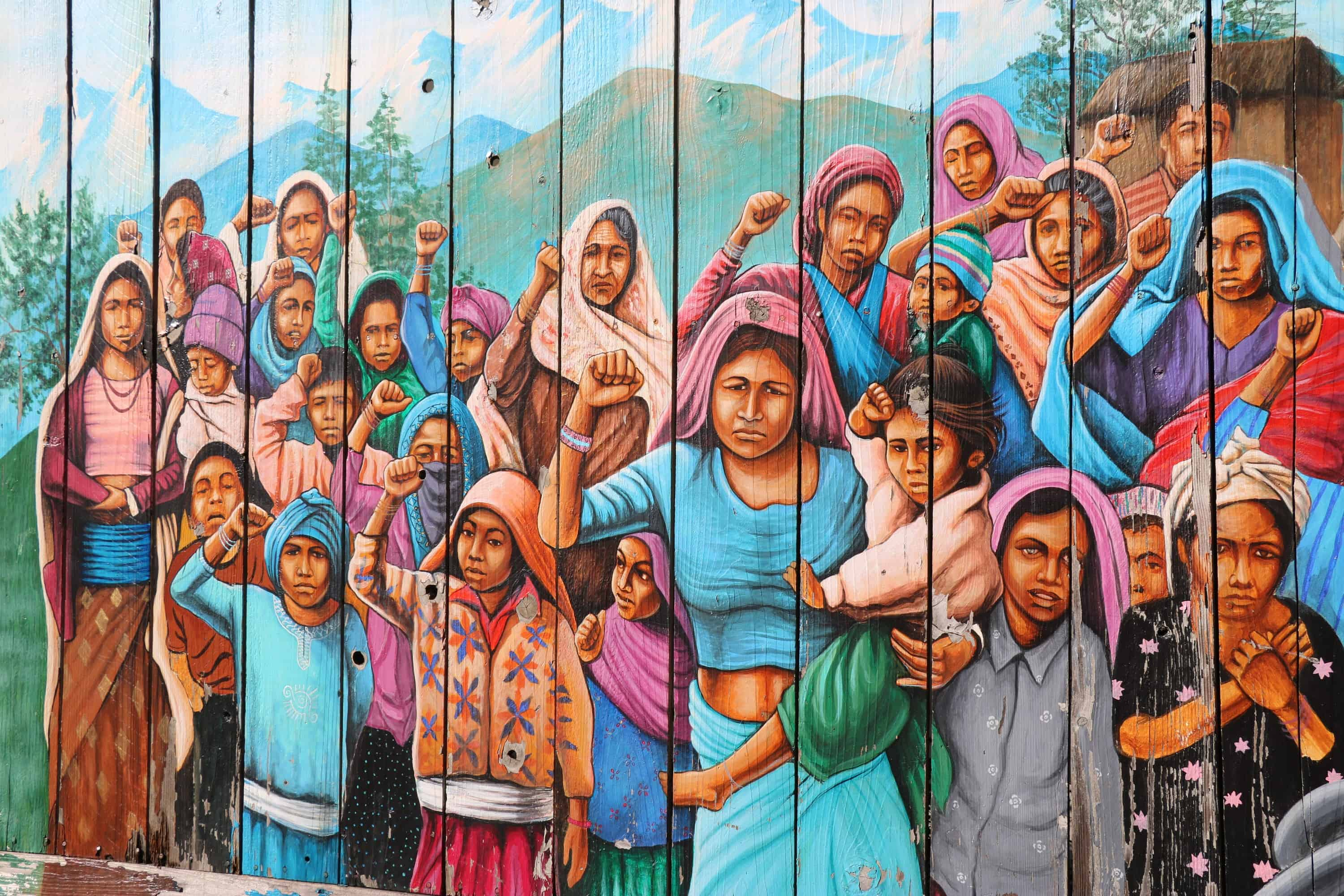 Four Days in San Francisco - Murals of the Mission District