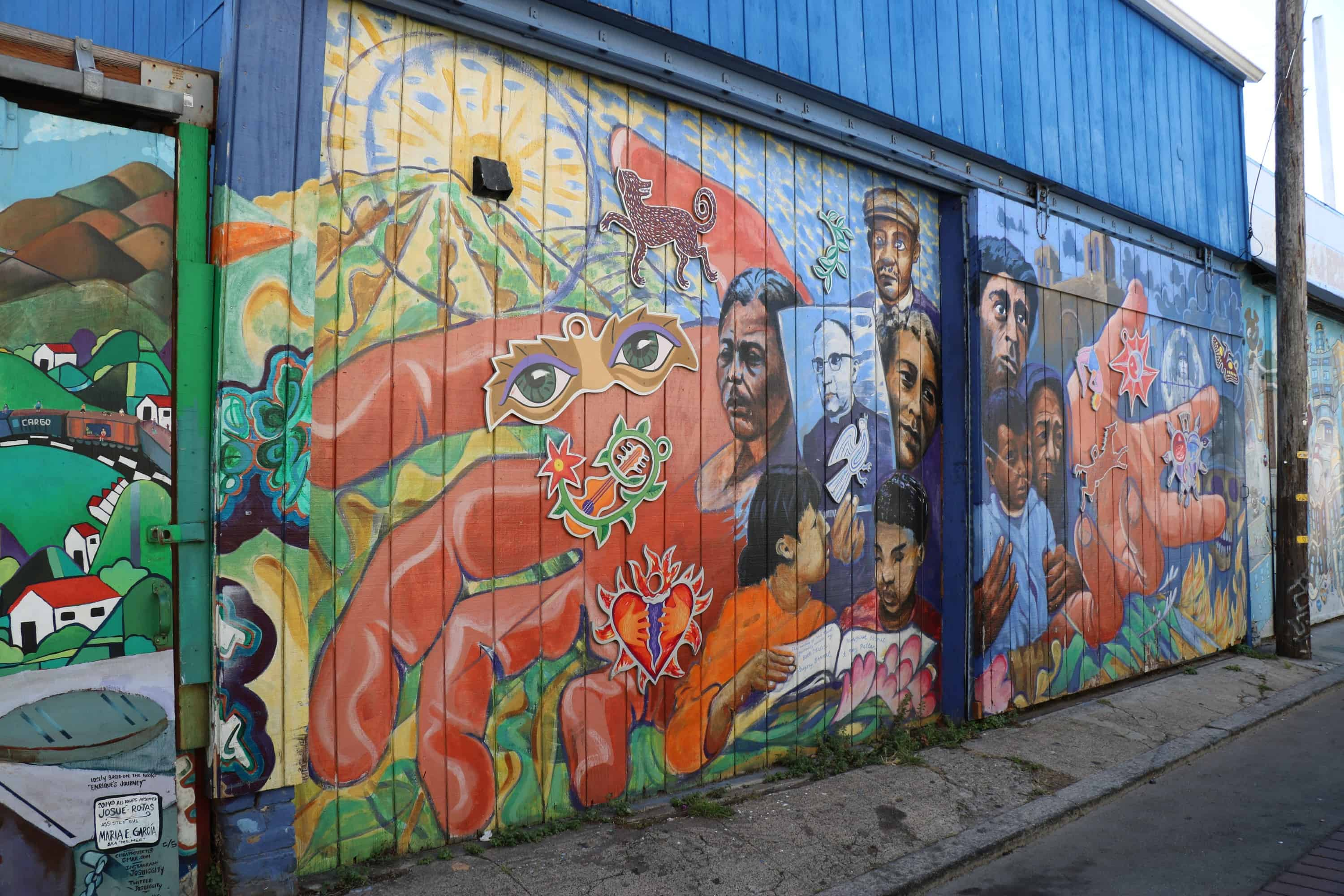 Mission District - Alleys and Murals