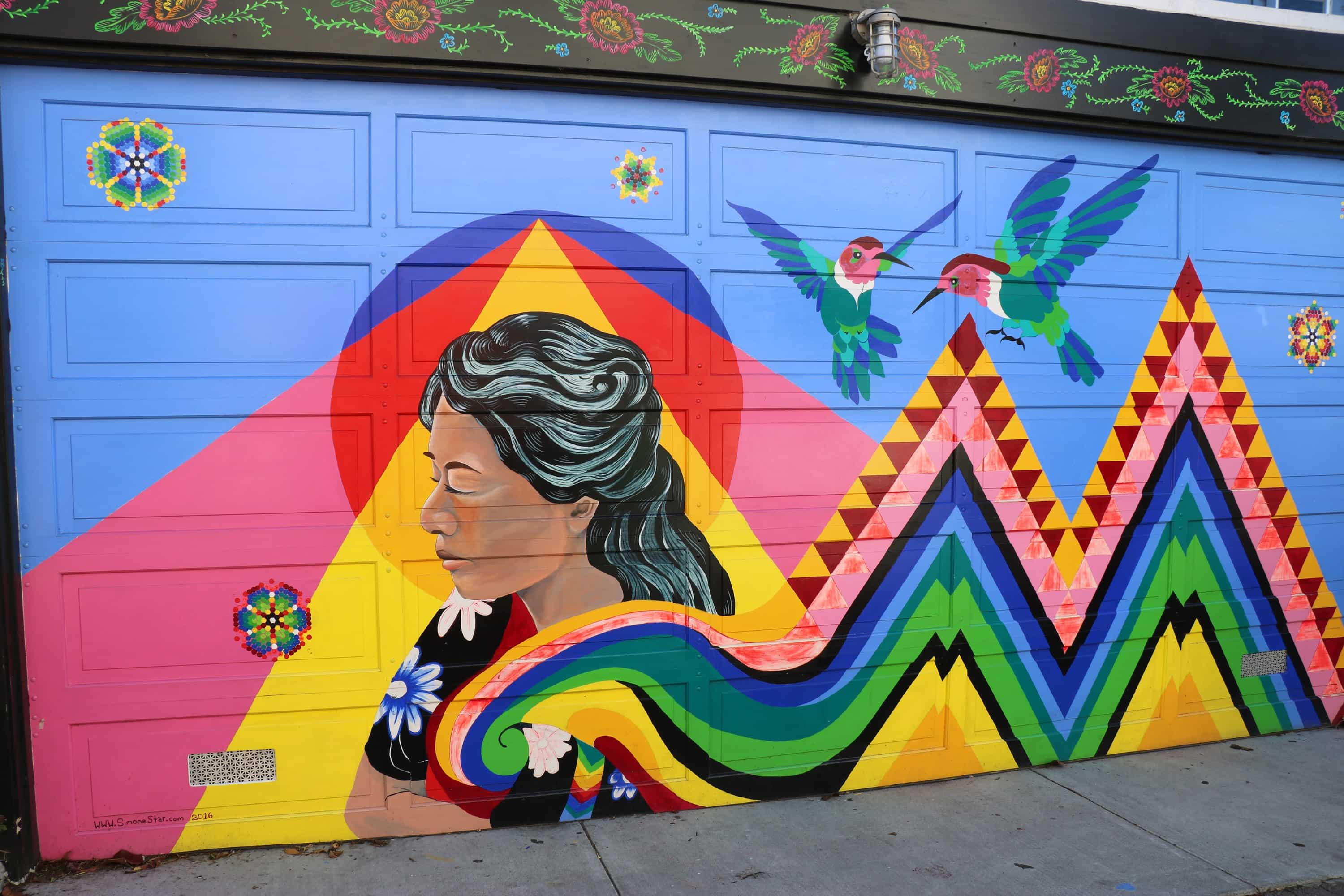 Murals of the Mission - Driveway