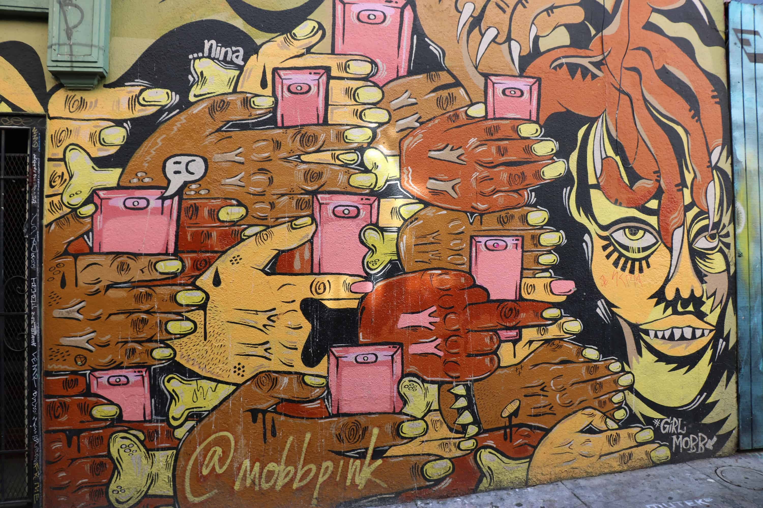 Murals of the Mission - phones