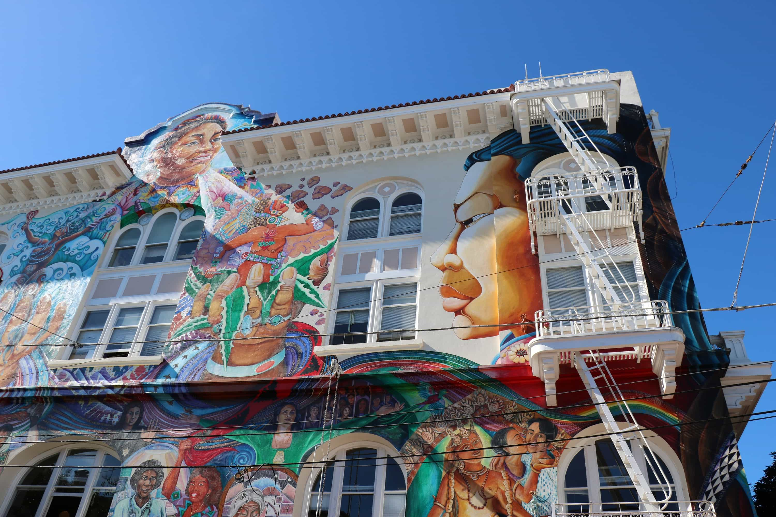 Murals of the Mission - Women's Building