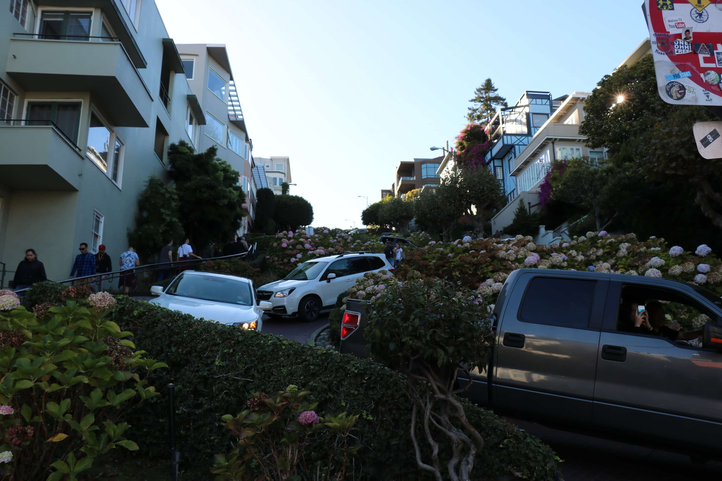 Four Days In San Francisco - Lombard Street