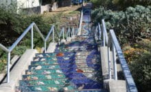 Four Days In San Francisco - Moraga Steps