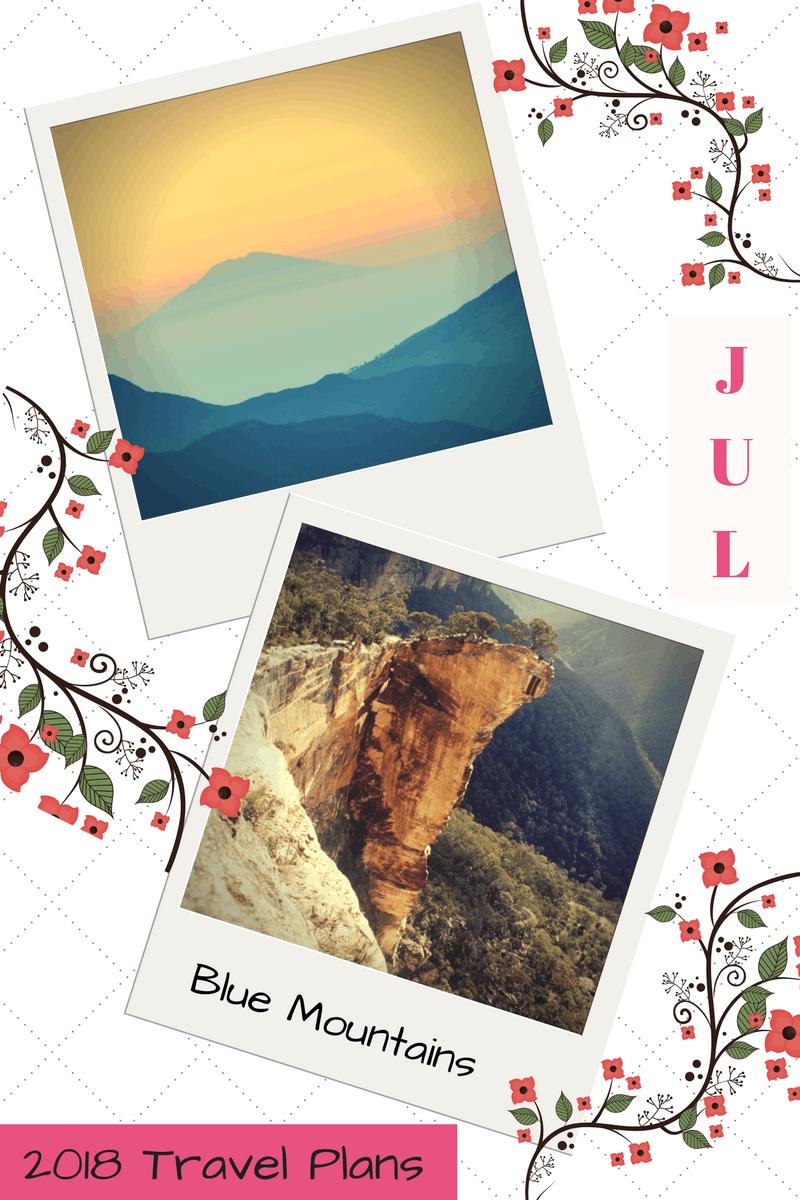 2018 Travel Plans - July