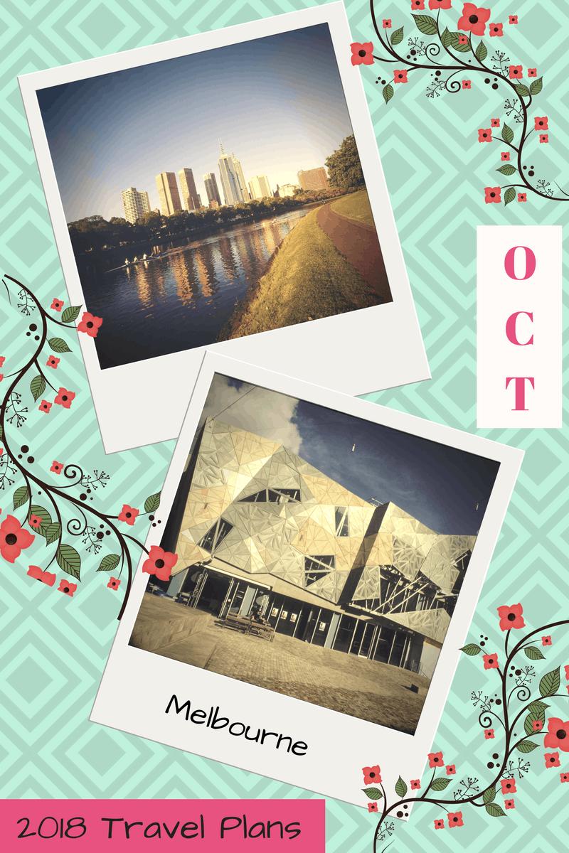 2018 Travel Plans - October