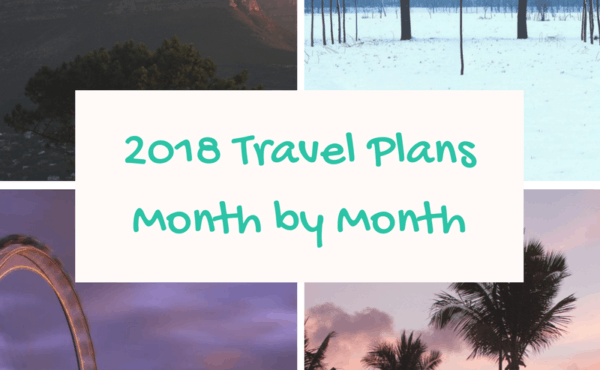 2018 Travel Plans - Cover